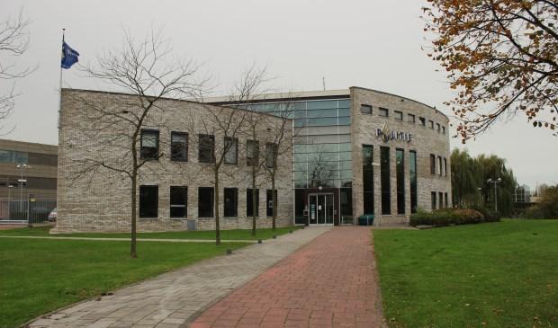 Het politiebureau van Pijnacker.