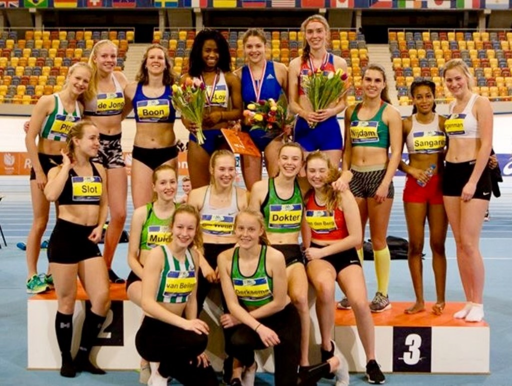 Nederlandse Kampioenschappen Indoor Meerkamp in Apeldoorn. Foto: Bjorn Paree  © Postiljon