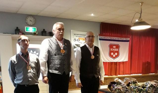 Henny Beijersbergen werd derde:  een fantastische prestatie. Foto: pr