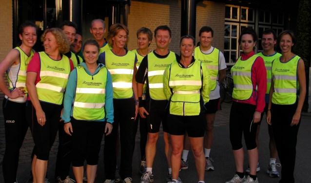 Trainen bij de Hardloopgroep Joy Runners in Zoetermeer. Foto: pr