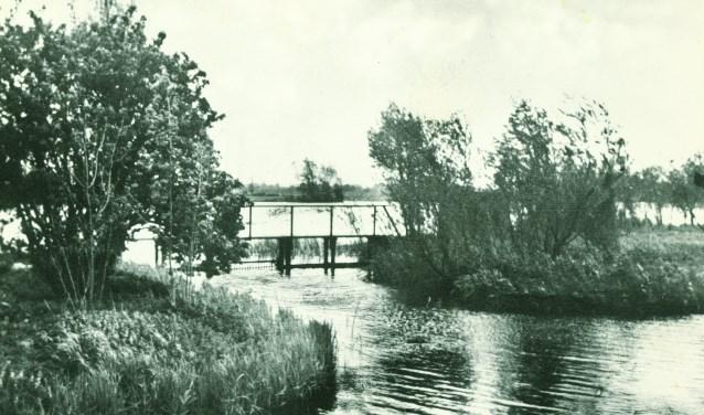 De Plas van Van Buijsen in vroeger tijden.