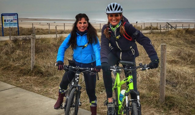 Marleen en Jacky zijn al in training hun fietsavontuur dat half oktober in Kenia plaatsvindt.