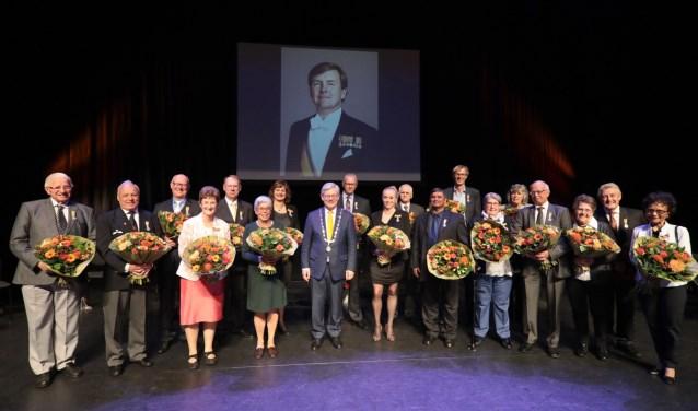Koninklijke onderscheiding voor zeventien inwoners van Zoetermeer en één inwoner van de gemeente Lansingerland. Foto: Jan van Es