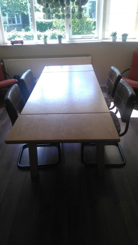 Uitschuifbare Eettafel 140.Uitschuifbare Eettafel 140 220 Cm Marktplein