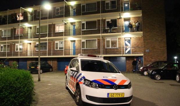 Op donderdagavond 10 mei is een woning overvallen aan de Dr. J.W. Paltelaan in Zoetermeer. Foto: Spa-Media / Olav Spa