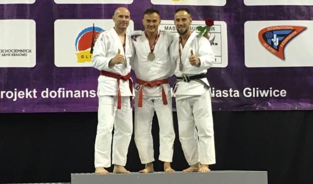 John Zwalve (m.) van Yotosama Europees Kampioen Jiu-Jitsu. Foto: pr