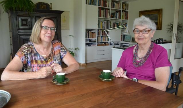 Hanneke Dominicus neemt de taken van Carine Schaap over(tekst/foto: Inge Koot).