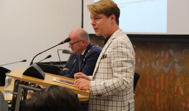 Jeroen van Rossum maakt zich kwaad over de wijze waarop de nieuwe coalitie met het LHBT-beleid omgaat. (Foto: AP de Heus)
