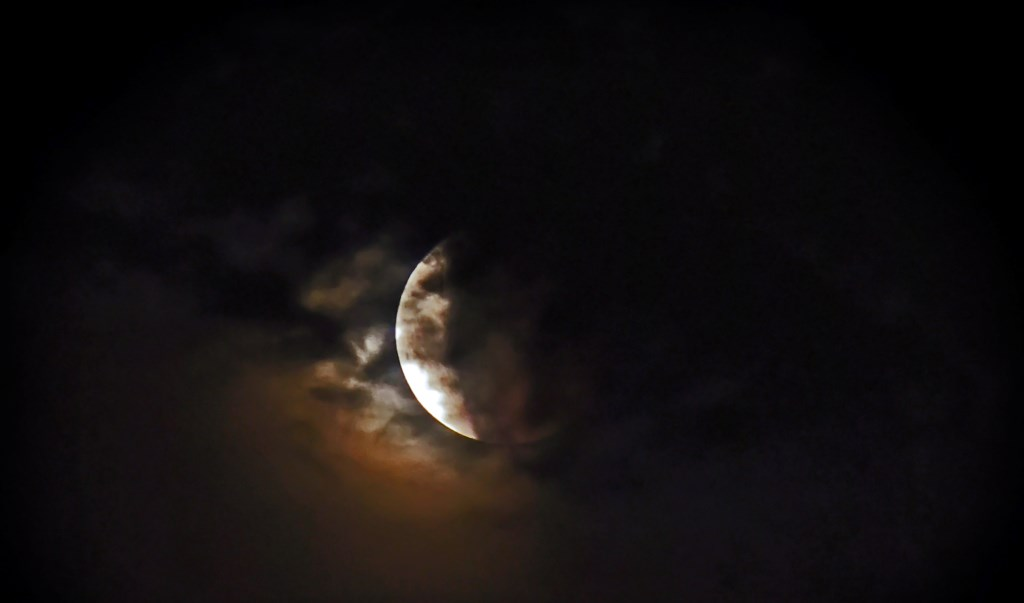 Ook rond 23.29 uur: nu bijna verdwenen. Foto: Jerrold Mallee Foto: JERROLD-MALLEE © Postiljon