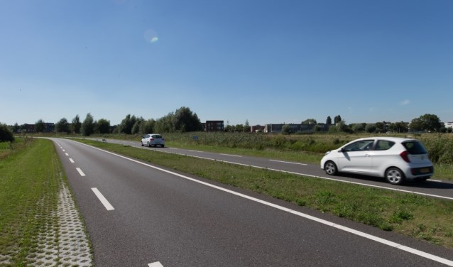 De provinciale weg N470 loopt van de A4 bij Delft-Zuid naar de A12 bij Zoetermeer en kruist daarbij de A13. Foto: Telstar-online.nl