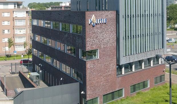 Politiebureau Leidschendam-Voorburg (foto: Michel Groen).