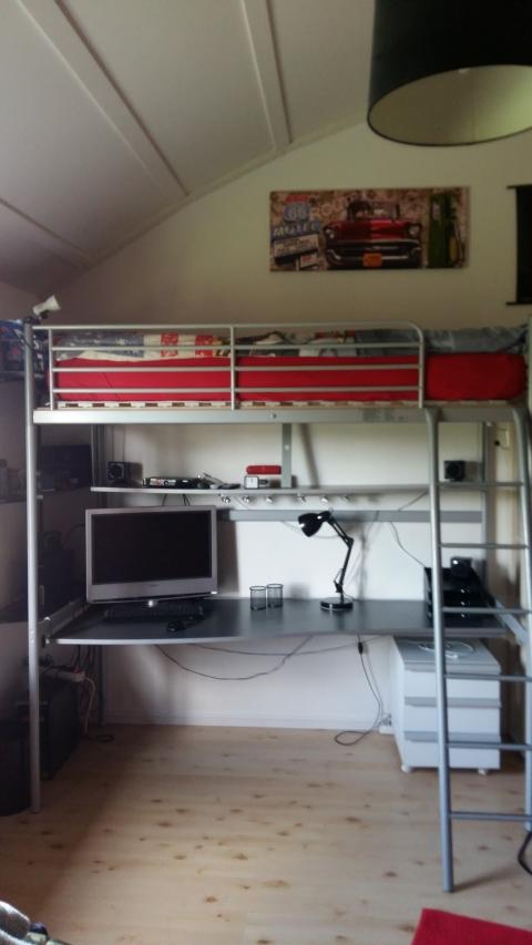 Beste Halfhoogslaper Met Bureau Ikea #XDE95 - AgnesWaMu DP-36
