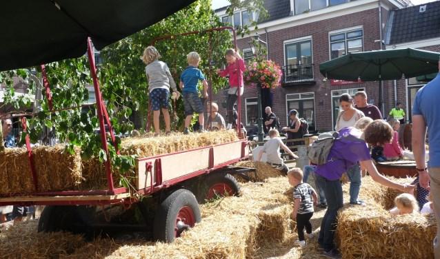 Er valt opnieuw heel wat te zien en te beleven op de Zoetermeerse Boerendag: demonstraties, producten, boerenband en kinderboerderij. Foto: pr