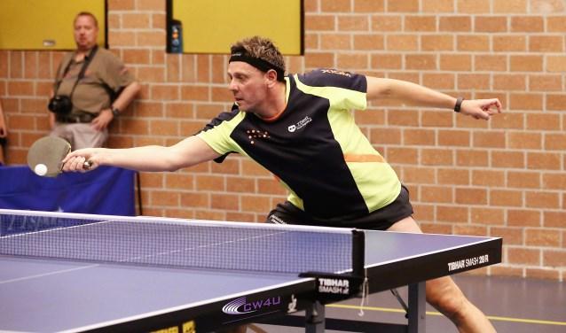 Titelhouder van het toernooi, oud-Nederlands Kampioen en negenvoudig landskampioen, Michel de Boer is er weer bij (foto: Remco Bruijne).