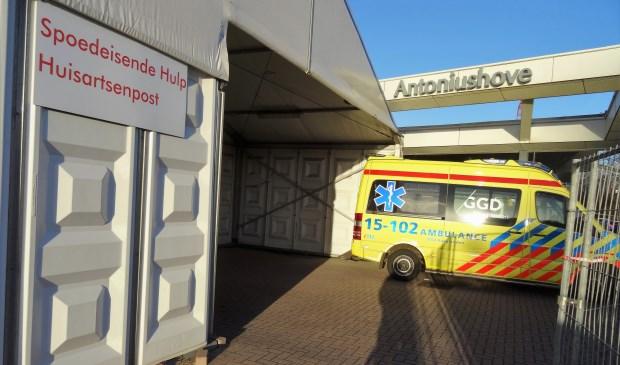 De spoedeisende hulp bij Antoniushove in Leidschendam werd  in april 2017 gesloten (archieffoto Ap de Heus).