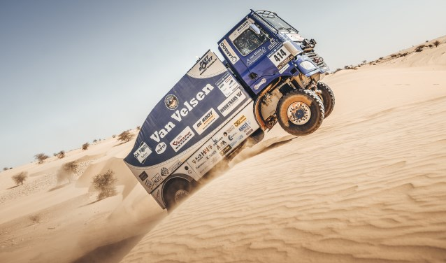 Van Velsen Rall Sport in de Africa Eco Race. Ook komend jaar wordt weer deelgenomen aan rally's in Afrika en in Marokko (foto: Alessio Corradini).