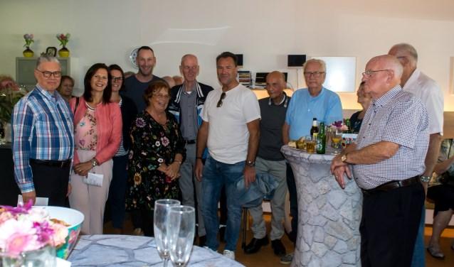 Dat de bewonerscommissie 'Juna' al 25 jaar bestaat is zeker te danken aan de actieve bestuursleden. Foto: Ineke Flaton