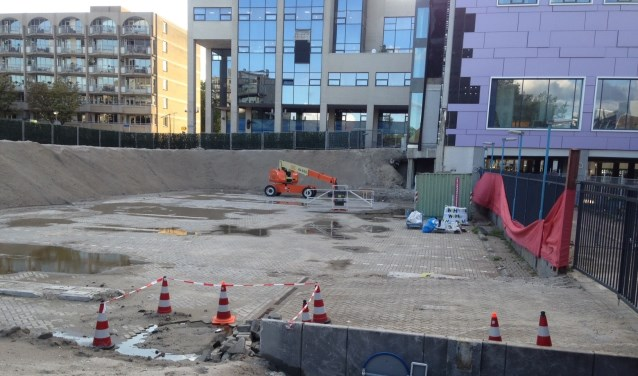De sloop van het Stadhuis aan Markt 10 in het centrum is voltooid. Hoe gaat de definitieve nieuw-/hoogbouw eruit zien? Foto's: Peter Zoetmulder