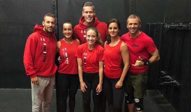 Tim Broekhoven, Patricia Meijer, Vincent Koot, Demi Bosma, Angelique Berns en Xander van der Veeke (v.l.n.r.). Foto: pr