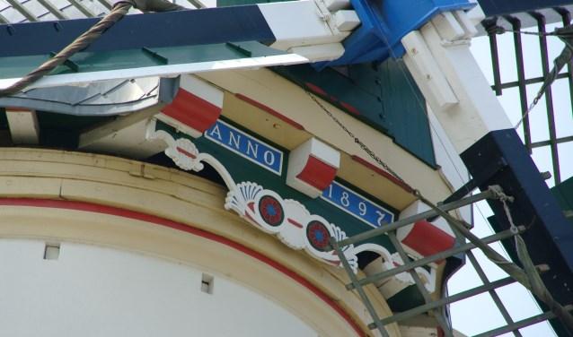 De molen dateert uit 1897 en werd gebouwd op de plek waar al sinds de middeleeuwen een molen had gestaan. Foto: pr