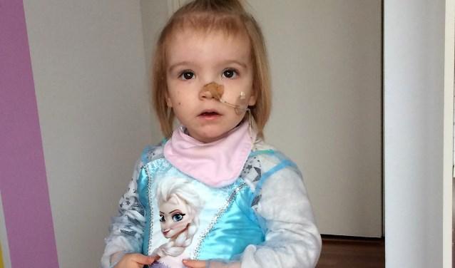 Jacklyn Molhoek; ze is slechts 2 jaar en 7 maanden oud geworden (privé foto).