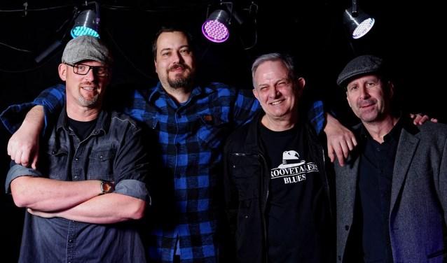 Een van de vele deelnemende bands: Groovetakers. Foto's: pr