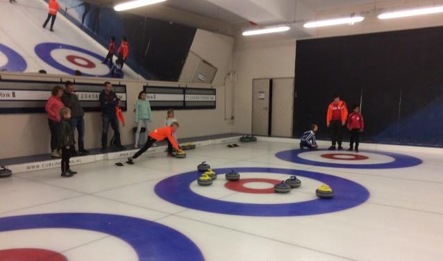 Het eerste kampioenschap shortcurling zal op 3 maart in de SilverDome plaats vinden. Foto: pr