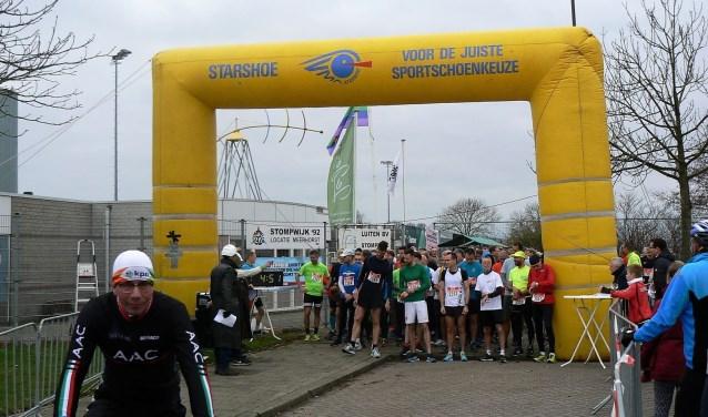 Start van de Meerhorstloop op een van de langere afstanden (foto: pr).