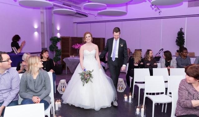 De unieke 2B-Married Bruidsbeurs staat geheel in het teken van trouwen, trouwen en nog eens trouwen. Foto: Sanne van den Ende