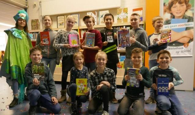 De Bibliotheek op School is nu ook op IKC De Edelsteen van start gegaan. Foto: Jan van Es