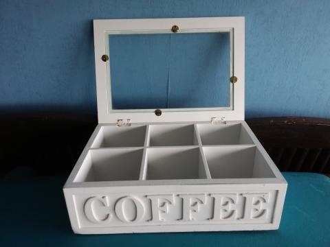 Mooie Houten Box.Mooie Houten White Wash Coffee Box Marktplein
