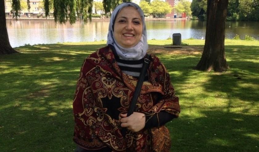 Roula vertelt graag over gewoonten en gebruiken in Syrië. Foto: pr