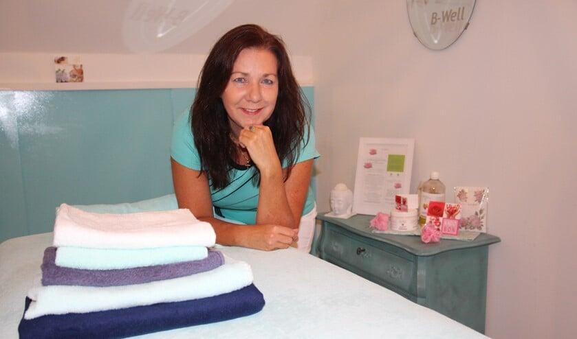 Sylvia beheerst meerdere vormen van massage: klassiek, Indiaas, Egyptisch, enzovoort.