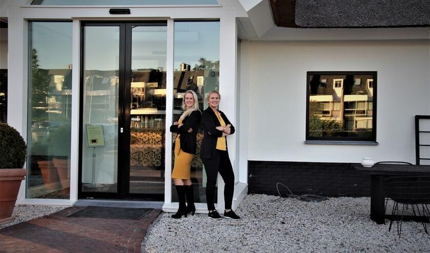 Marjan van Aelst en Nicolette van der Krogt.