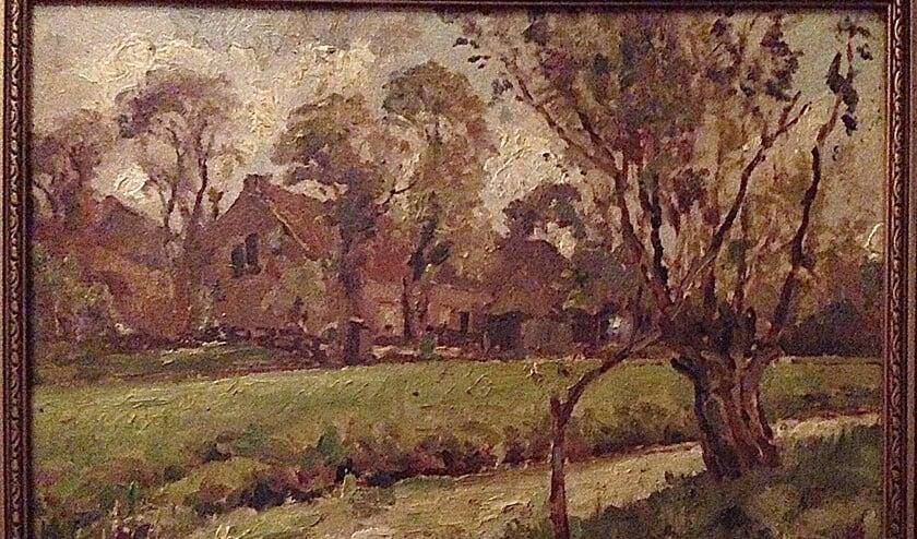 Jan van der Stap schilderde deze boerderij.