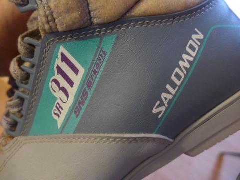 dcc77eae540 Fischer lanlaufset compleet Salomon schoen 42 wij skien alleen nog maar dus  over
