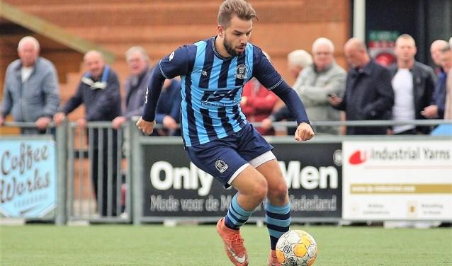 Joshua Steenvoorden (Forum Sport) scoorde zaterdag twee keer (archieffoto: AW).