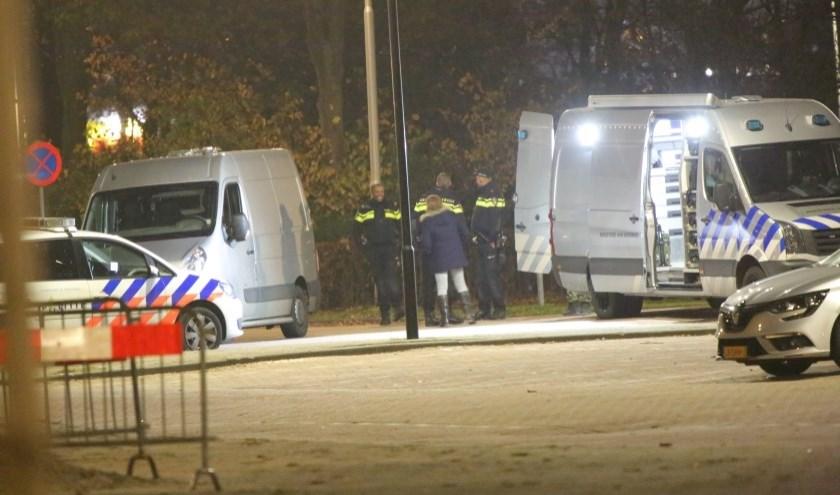 Op 21 november 2018 werd al eerder een handgranaat bij uitgaansgelegenheid Club Magnum aan de Van der Hagenstraat aangetroffen en door de EOD ontmanteld. Foto: Spa-Media