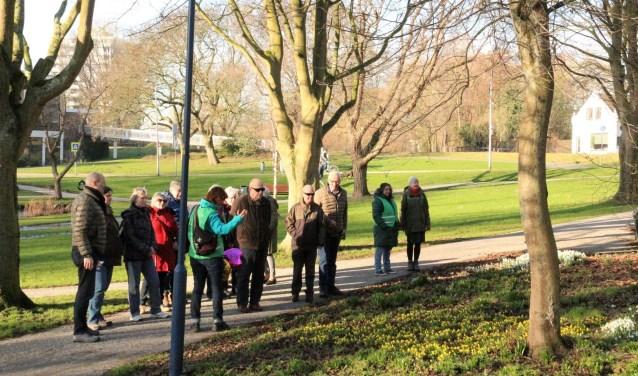 Aan de wandel op Valentijnsdag in de oude Dorpskern en het daarachter gelegen Wilhelminapark. Foto: pr