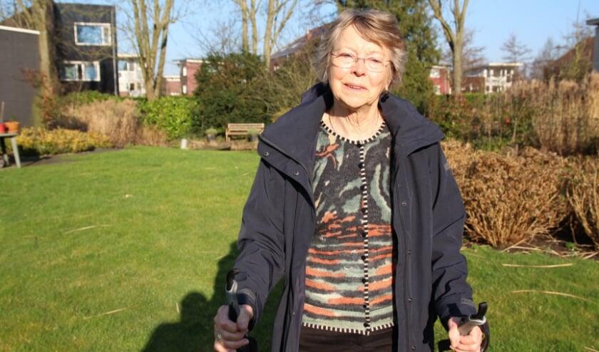 Greta Richter hoopt dat veel mensen op gepaste afstand gaan meewandelen.