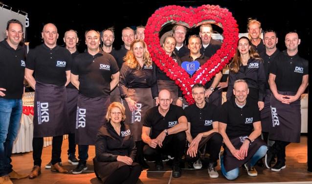 De gasten met een groot hart op de foto bij Estherfotografeert.nl.