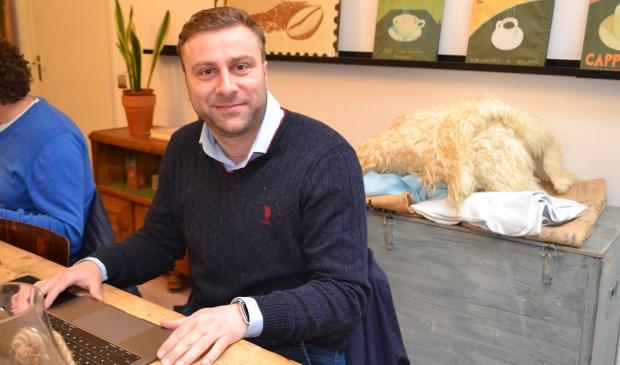 Voorburger Drago Grguric staat op de kandidatenlijst voor de VVD (Foto: Inge Koot).