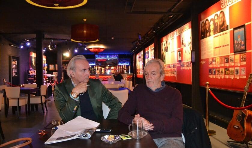 Popjournalist Reitsma sprak met Harding ook over zijn tijd in Nootdorp.