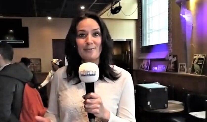 Presentatrice Alice Hooft.