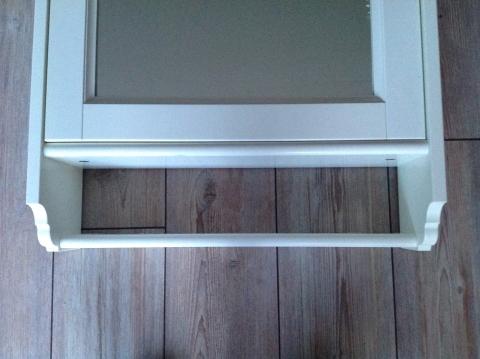 Badkamer Kast Spiegel : Witte medicijnkast badkamer spiegel kast met planken marktplein