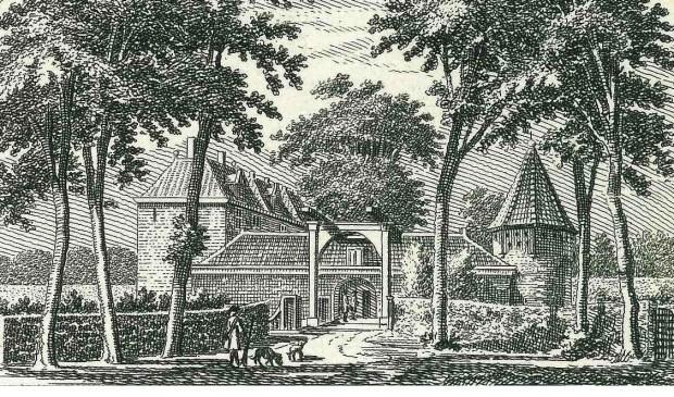 De verdwenen Ridderhofstede De Loo uit 1738