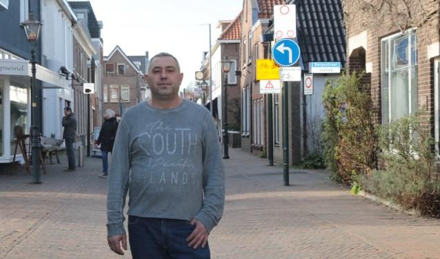 Hamdi A. Amdi van Gordijnenland, gevestigd in de Dorpsstraat. Foto: Jan van Es