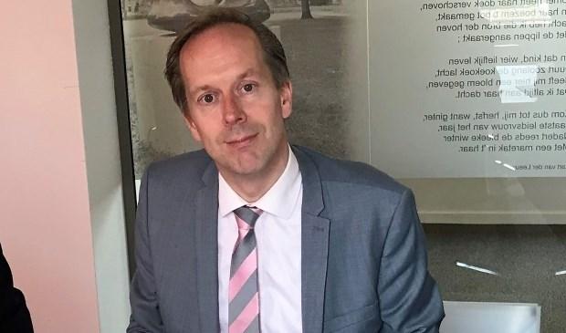 Wethouder Jan-Willem Rouwendal wil maatschappelijke partners uitdagen tot samenwerken (archieffoto)