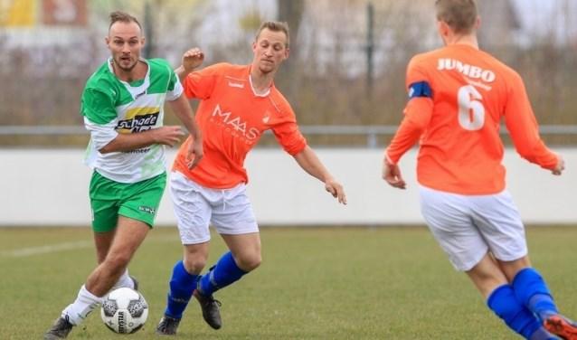 BSC'68 verloor met 1-2 van Nieuwkoop. Foto: Franca Dobbe Haaglanden Voetbal