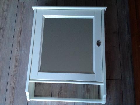 Open Opbergkast Badkamer : Witte medicijnkast badkamer spiegel kast met 2 planken marktplein